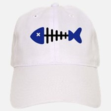 Fishbone Fish Baseball Baseball Cap
