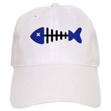 Fishbone Fish Baseball Cap