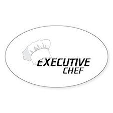 Executive Chef Decal