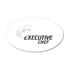Executive Chef Wall Decal