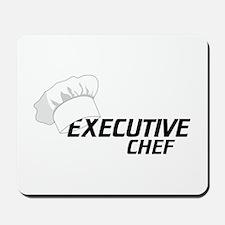 Executive Chef Mousepad
