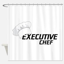 Executive Chef Shower Curtain