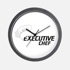 Executive Chef Wall Clock