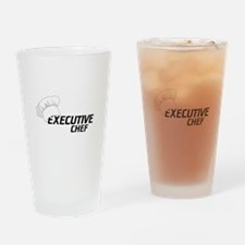 Executive Chef Drinking Glass