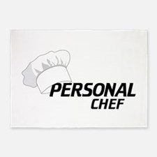 Personal Chef 5'x7'Area Rug