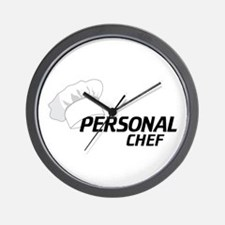 Personal Chef Wall Clock
