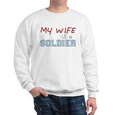 Husband of a Soldier Sweatshirt
