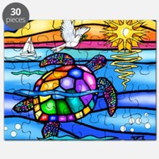 Cool Colorful turtle Puzzle