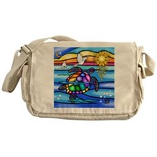 Cute Animals turtles Messenger Bag