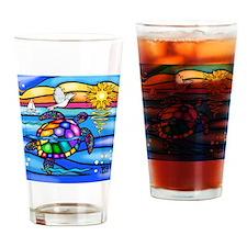 Cute Sea glass Drinking Glass
