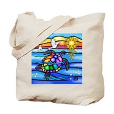 Unique Sea turtle Tote Bag