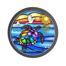Unique Sea turtle Wall Clock