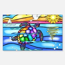 Cute Stained glass art Decal