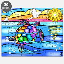 Cute Colorful turtle Puzzle