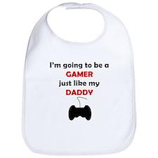 Gamer Like My Daddy Bib