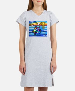 Sea Turtle #8 Women's Nightshirt