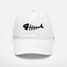 Fishbone Baseball Baseball Cap
