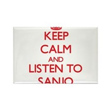 Keep calm and listen to SANJO Magnets