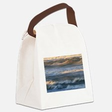 Funny Waves Canvas Lunch Bag