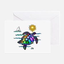 Sea Turtle (nobk) Greeting Card
