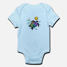 Sea Turtle (nobk) Infant Bodysuit