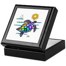 Sea Turtle (nobk) Keepsake Box