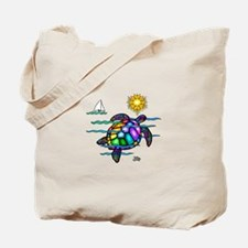 Sea Turtle (nobk) Tote Bag