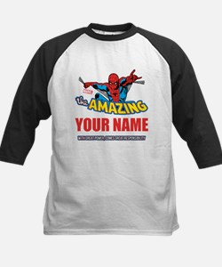 The Amazing Spider-man Person Kids Baseball Jersey