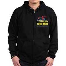 The Amazing Spider-man Personali Zip Hoodie