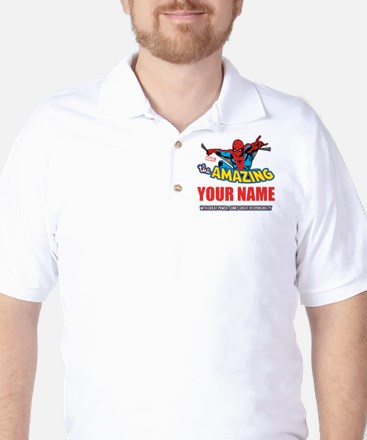 The Amazing Spider-man Personalized Golf Shirt