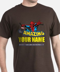 The Amazing Spider-man Personalized D T-Shirt
