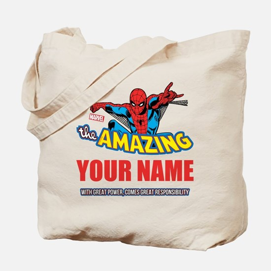 The Amazing Spider-man Personalized Tote Bag