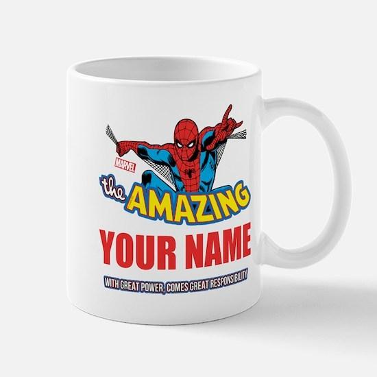The Amazing Spider-man Personalized Mug