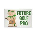 Golfers Rectangle Magnet (10 pack)