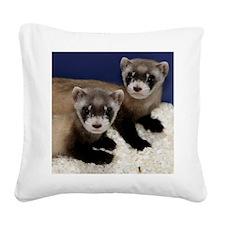 Cute Zoological park Square Canvas Pillow