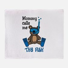 Sometimes the Fish Throw Blanket