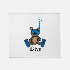 iDive Throw Blanket