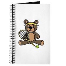 Tennis Teddy Bear Journal