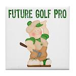 Golfers Tile Coaster