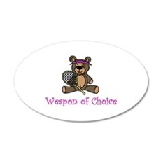 Weapon of Choice Wall Decal