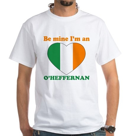 O'Heffernan, Valentine's Day White T-Shirt