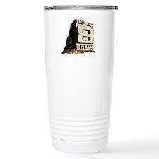 Cute Retro logo Travel Mug