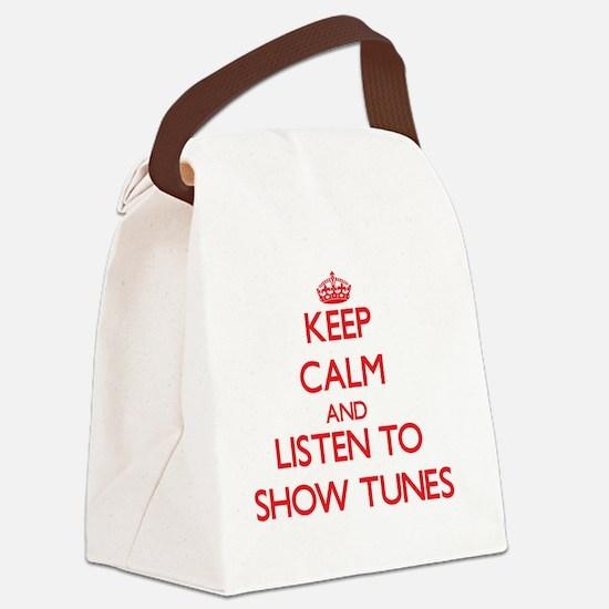 Unique Album Canvas Lunch Bag