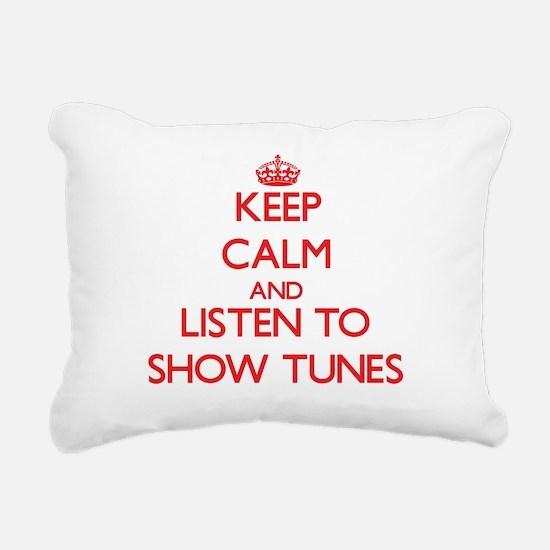 Cute Tune Rectangular Canvas Pillow