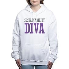 Sustainability DIVA Women's Hooded Sweatshirt