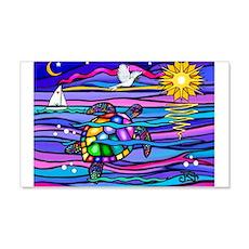 Sea Turtle #4 Wall Decal