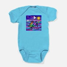 Sea Turtle #4 Baby Bodysuit