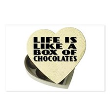 Box Of Chocolates Postcards (Package of 8)