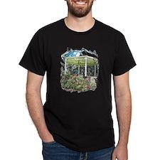 Rose garden gazebo T-Shirt