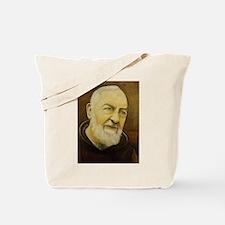 Cool Padre pio Tote Bag